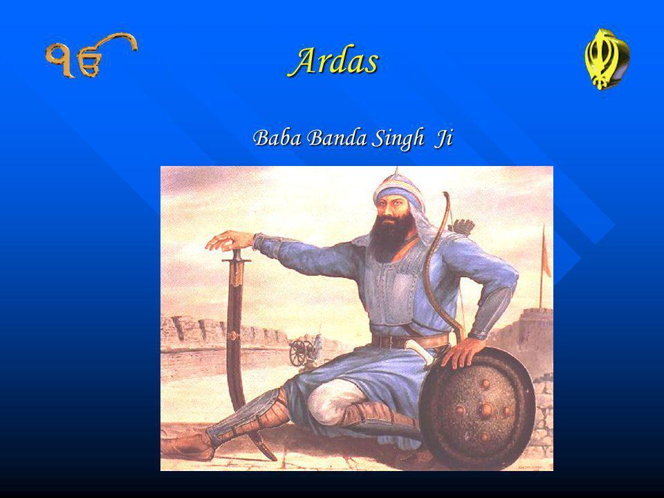 Ardas Baba Banda Singh Ji
