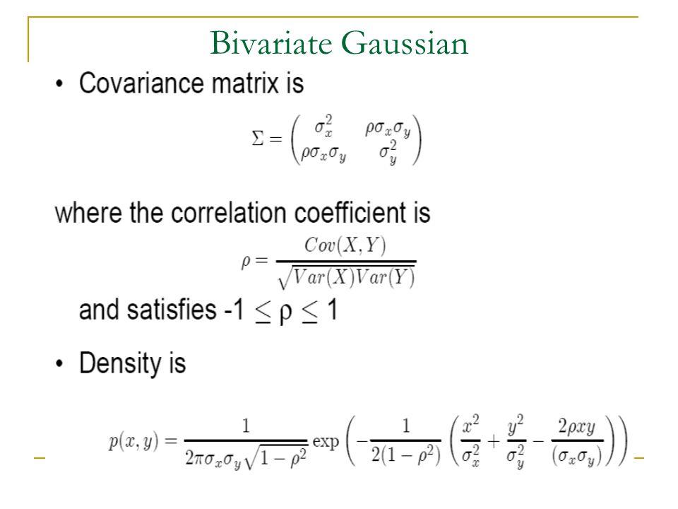 Bivariate Gaussian