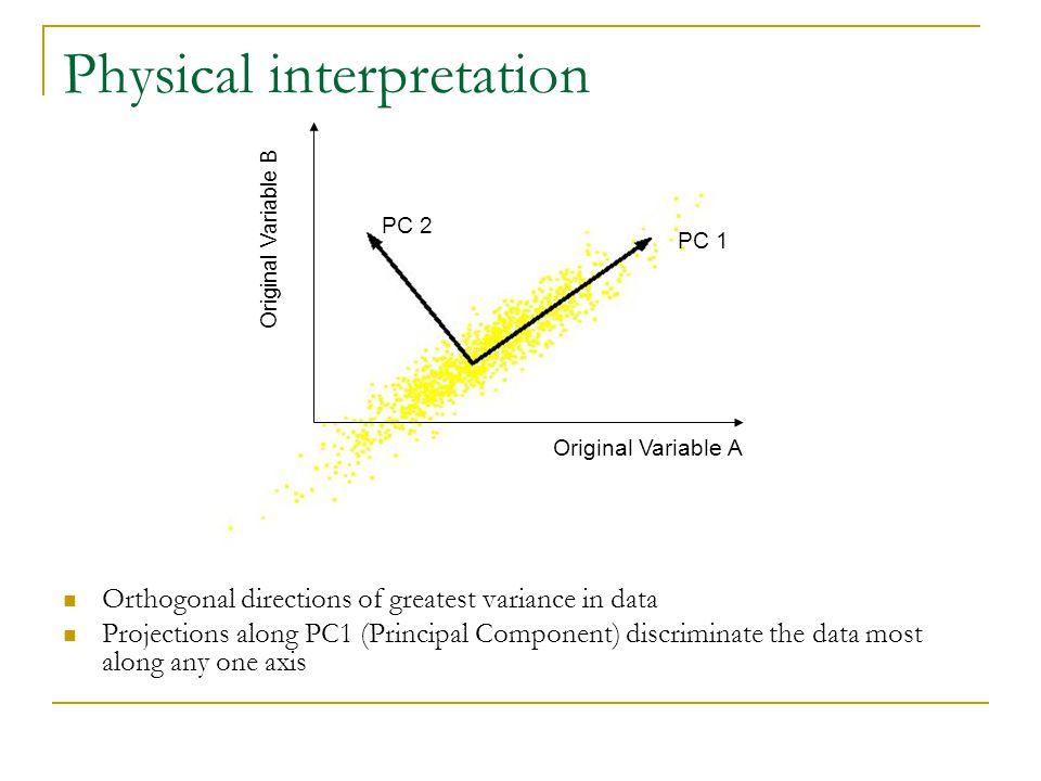 Physical interpretation