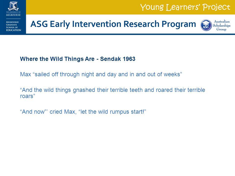 Where the Wild Things Are - Sendak 1963