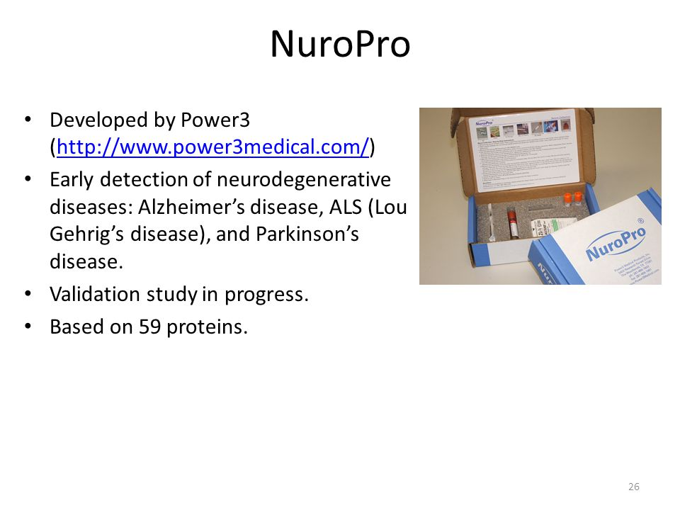 NuroPro Developed by Power3 (http://www.power3medical.com/)