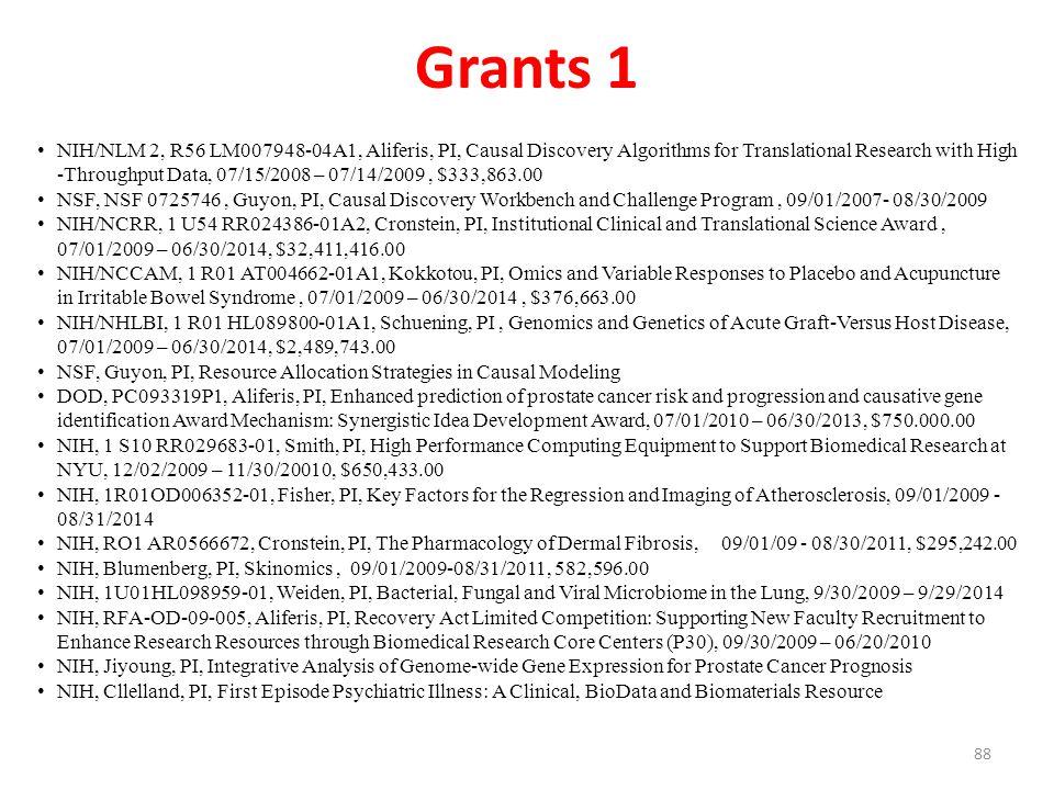 Grants 1