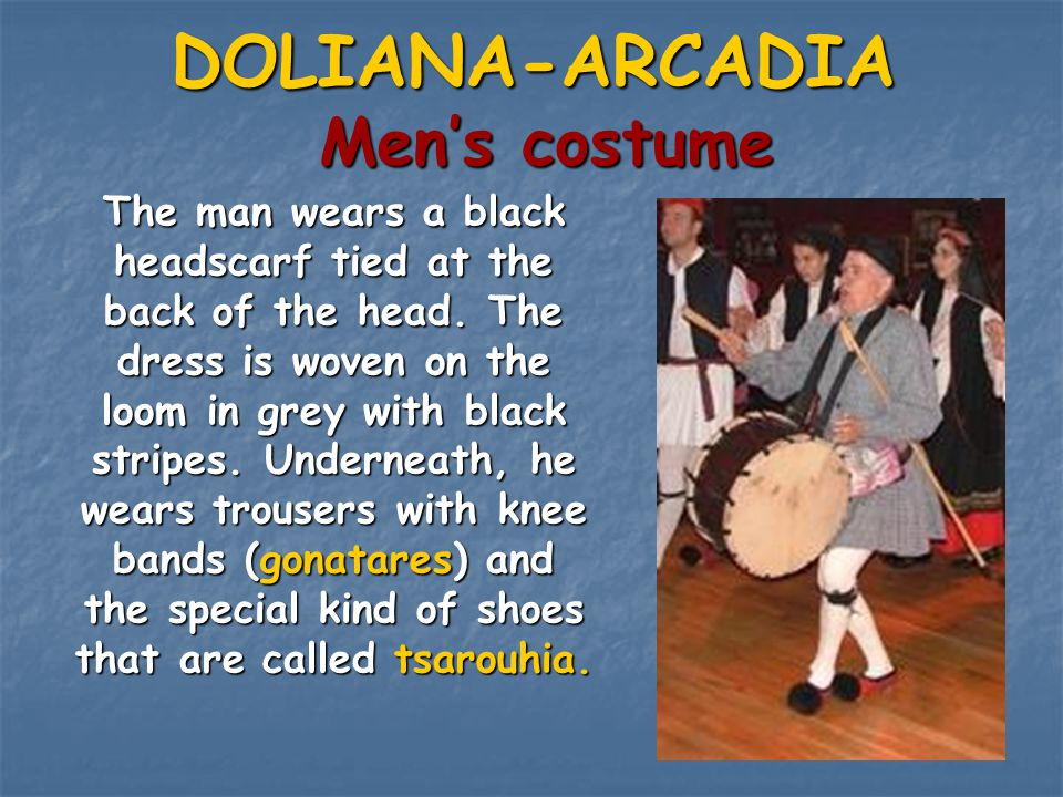 DOLIANA-ARCADIA Men's costume
