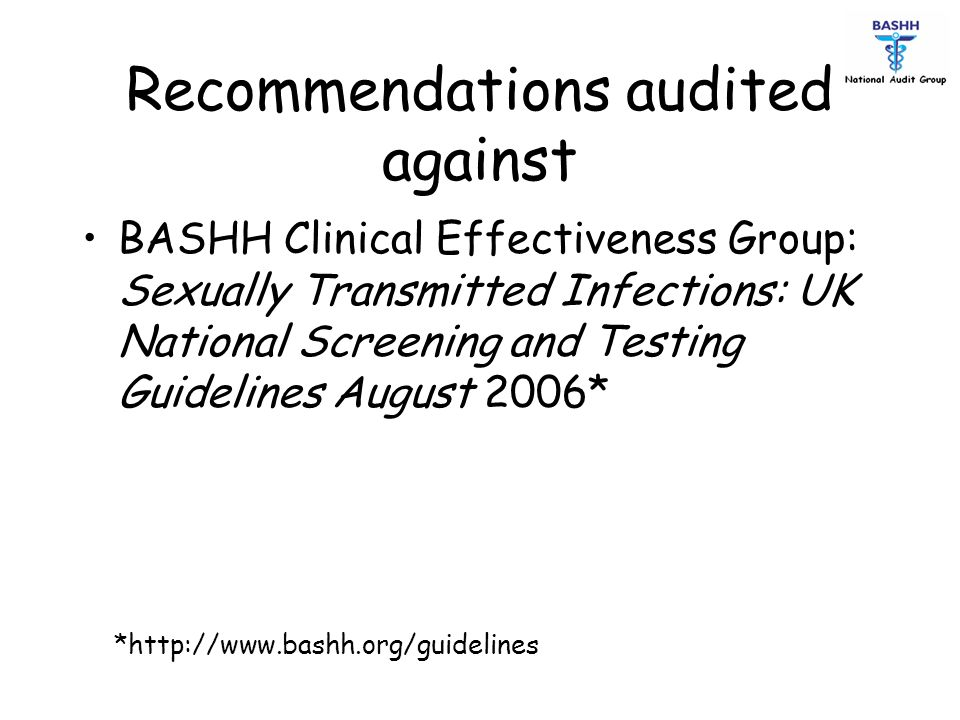 Recommendations audited against