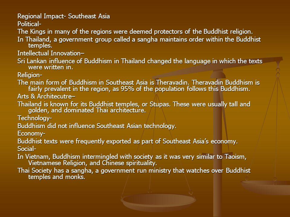 Regional Impact- Southeast Asia