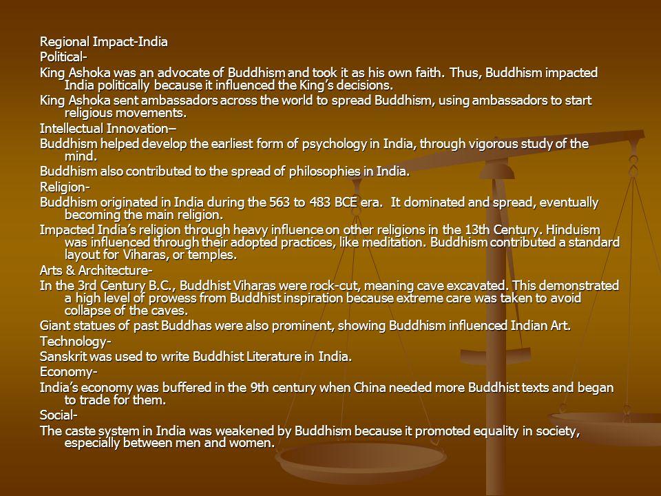Regional Impact-India