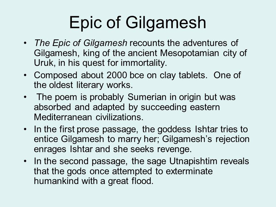 Literature Review: The Epic of Gilgamesh
