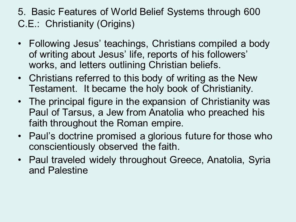 Paul traveled widely throughout Greece, Anatolia, Syria and Palestine