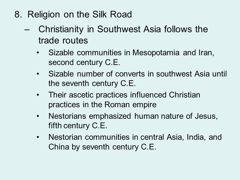 8. Religion on the Silk Road