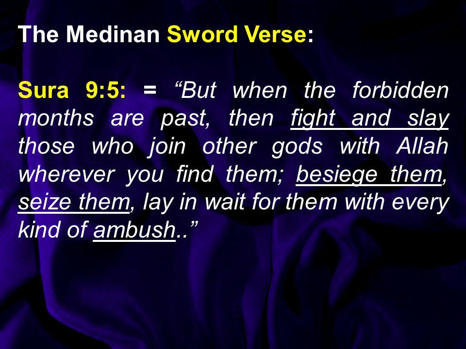 The Medinan Sword Verse: