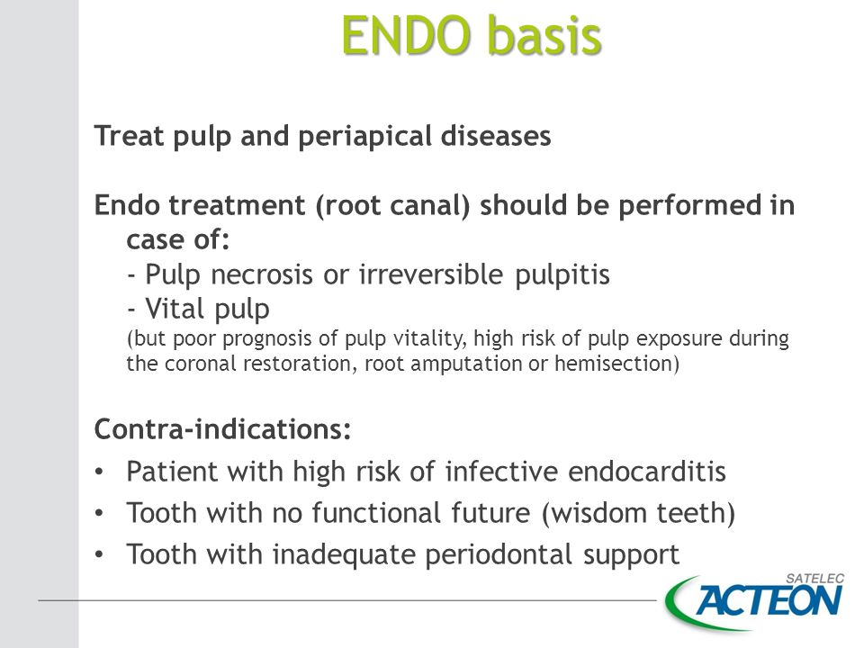 ENDO basis Treat pulp and periapical diseases