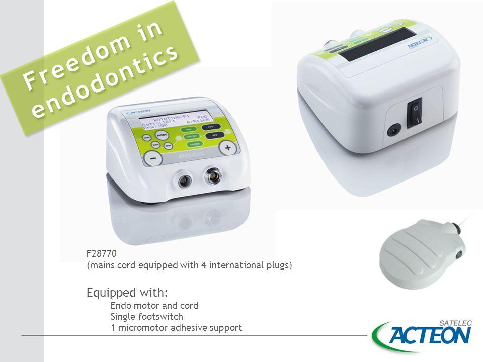 Freedom in endodontics