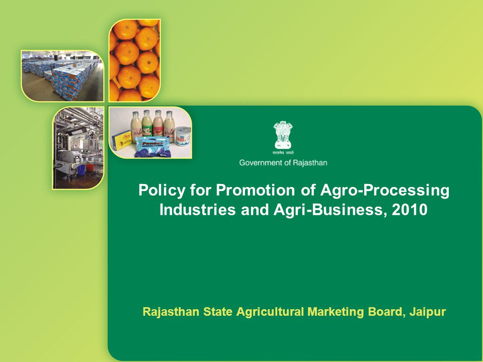 Rajasthan State Agricultural Marketing Board, Jaipur