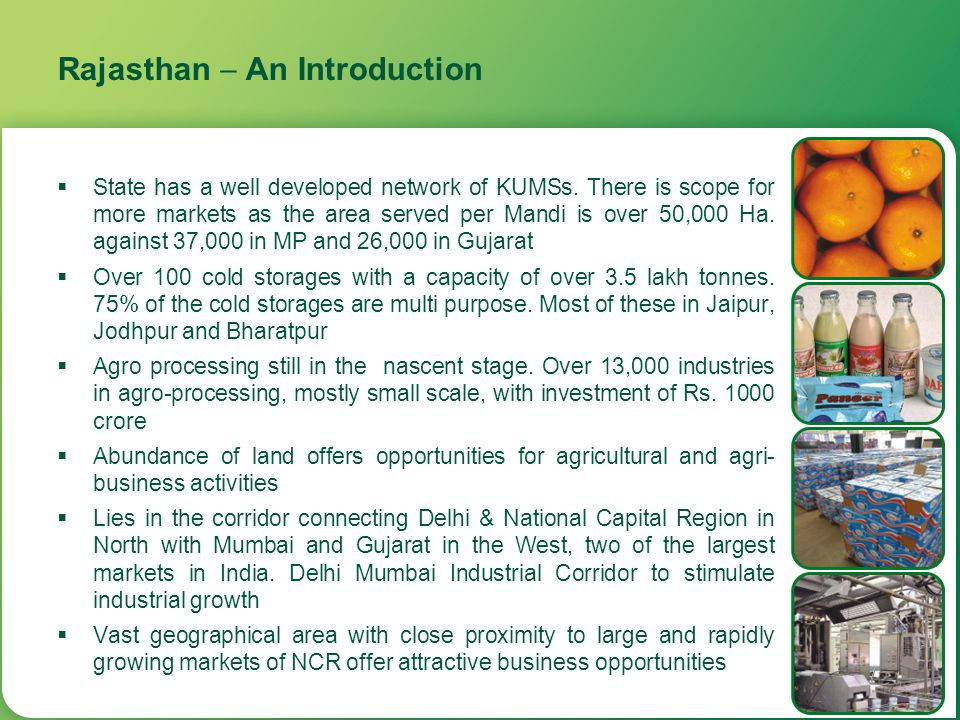 Rajasthan  An Introduction