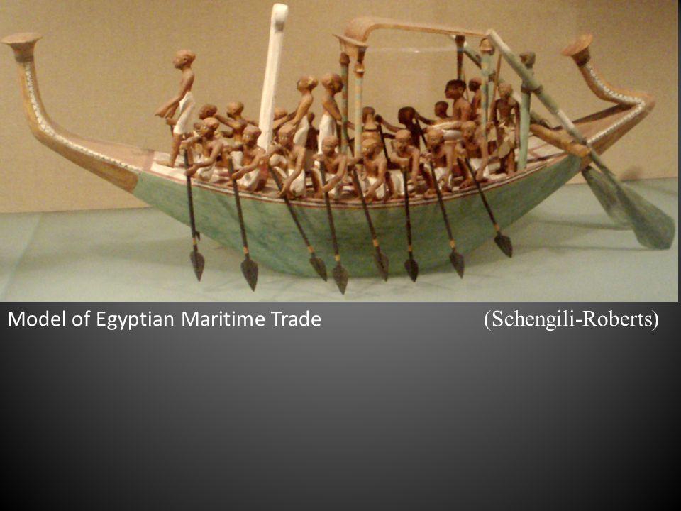 Model of Egyptian Maritime Trade (Schengili-Roberts)