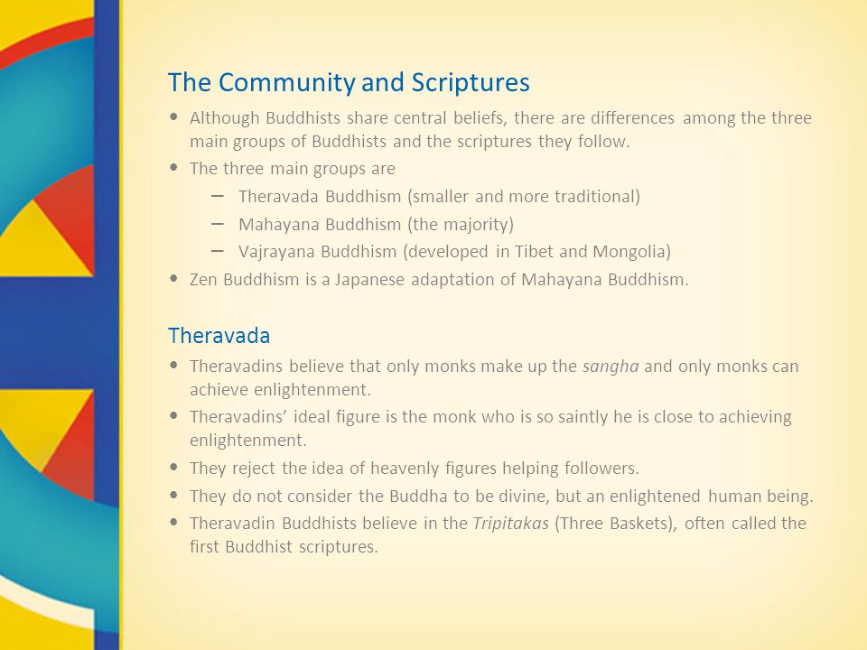 The Community and Scriptures