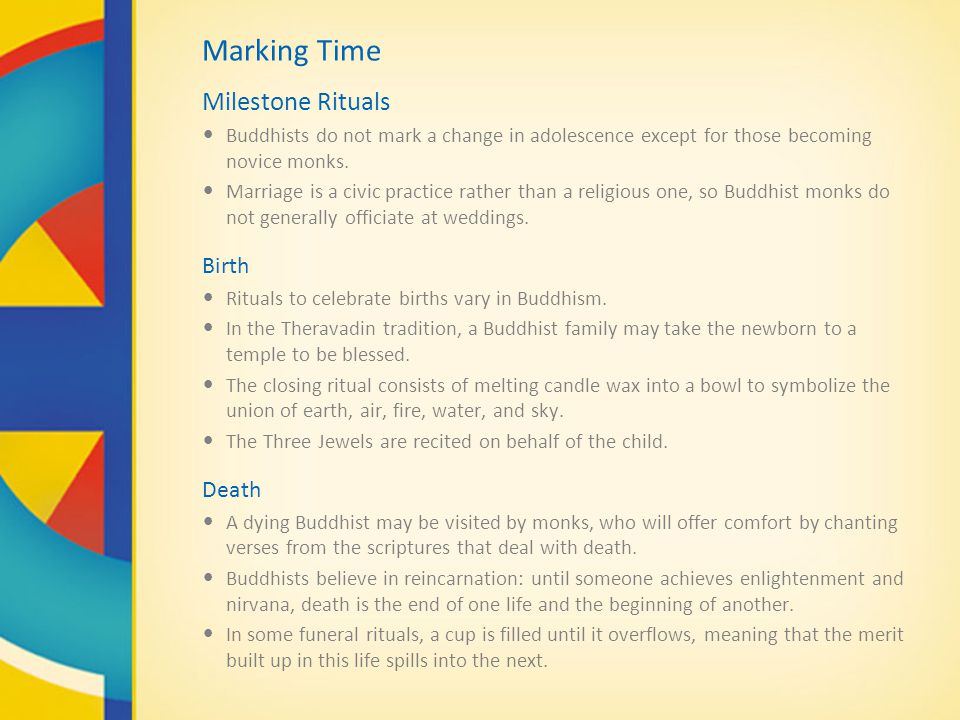 Marking Time Milestone Rituals Birth Death