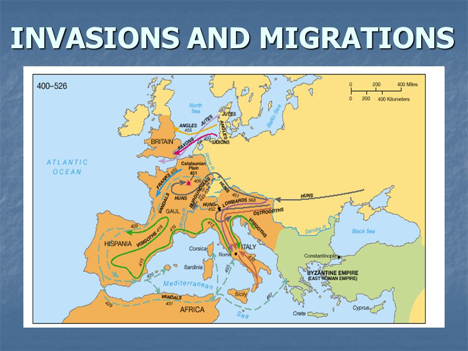 INVASIONS AND MIGRATIONS