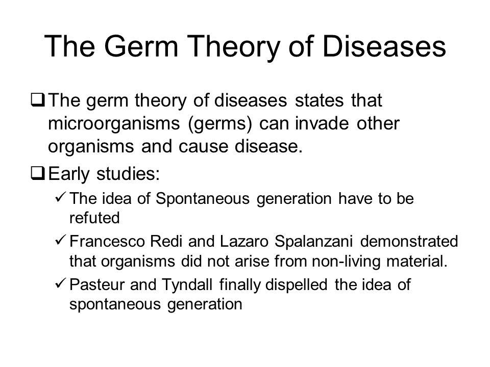 The Germ Theory of Diseases