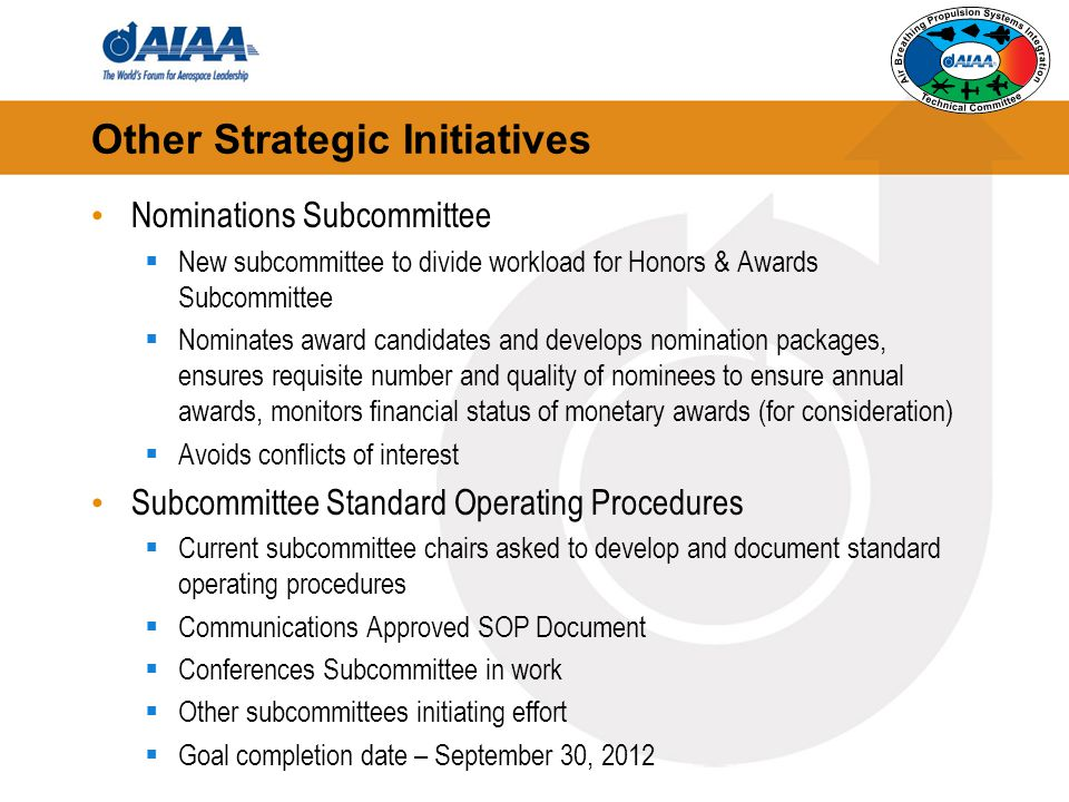 Other Strategic Initiatives