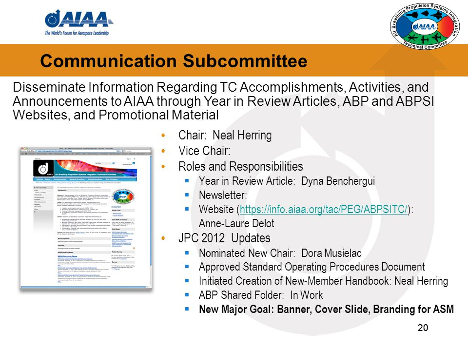Communication Subcommittee