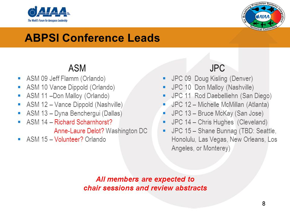 ABPSI Conference Leads