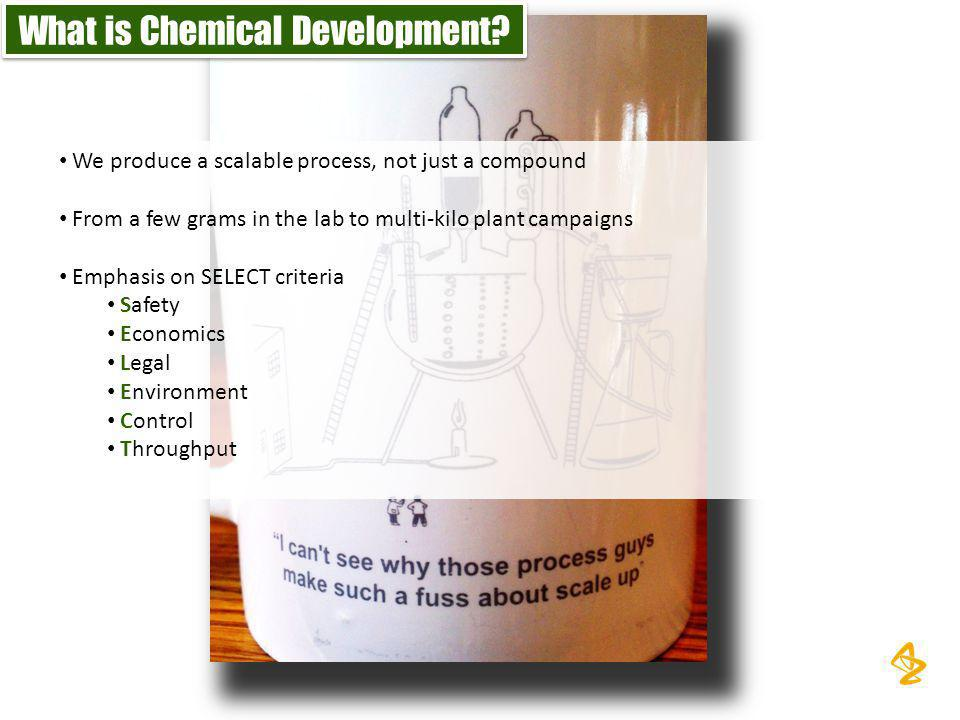 What is Chemical Development