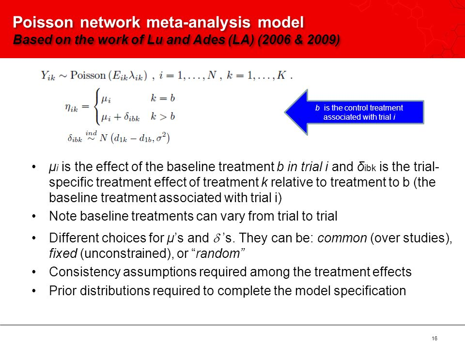 b is the control treatment associated with trial i