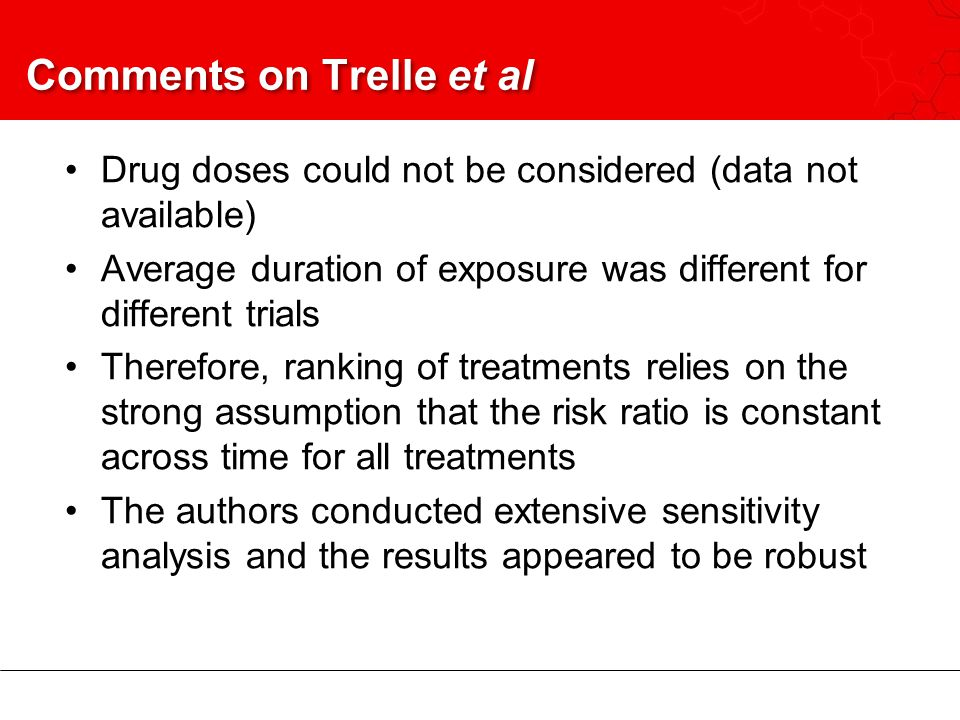 Comments on Trelle et al
