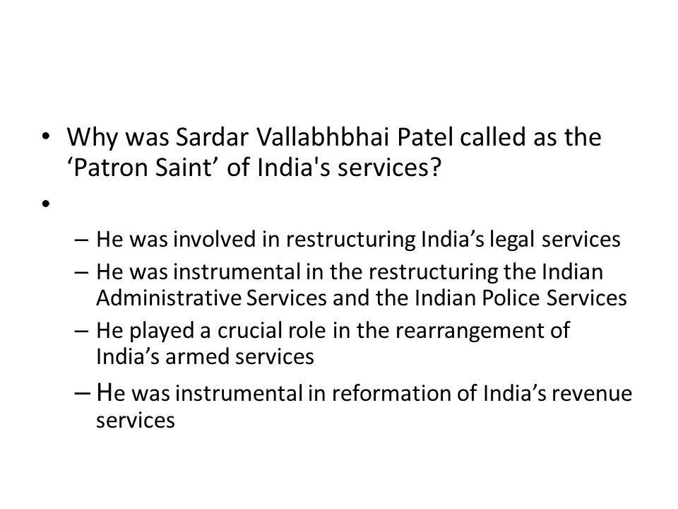 He was instrumental in reformation of India's revenue services