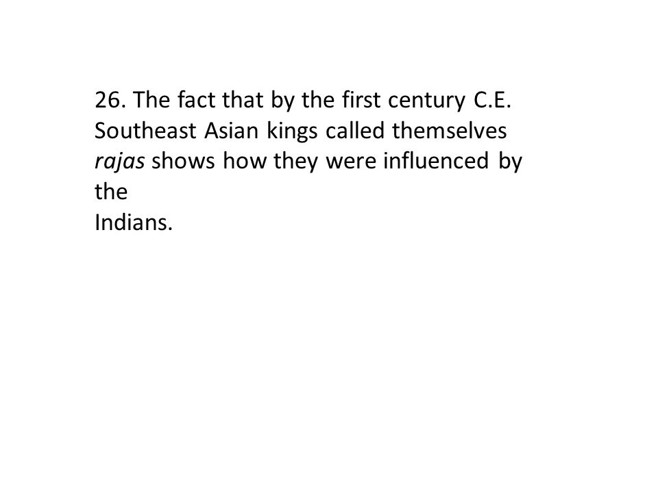 26. The fact that by the first century C. E