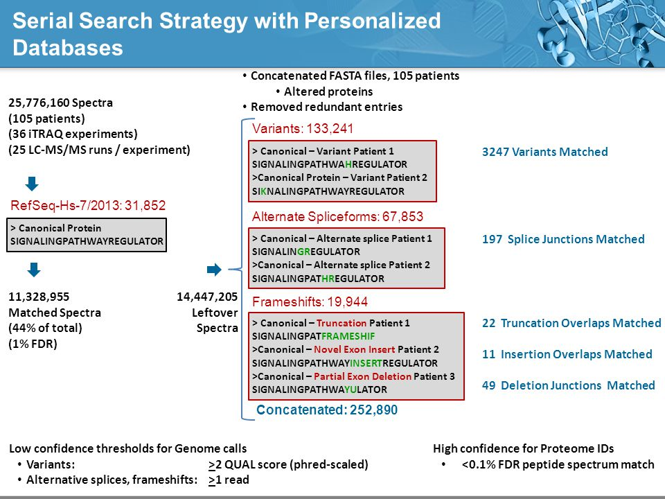 Serial Search Strategy with Personalized Databases