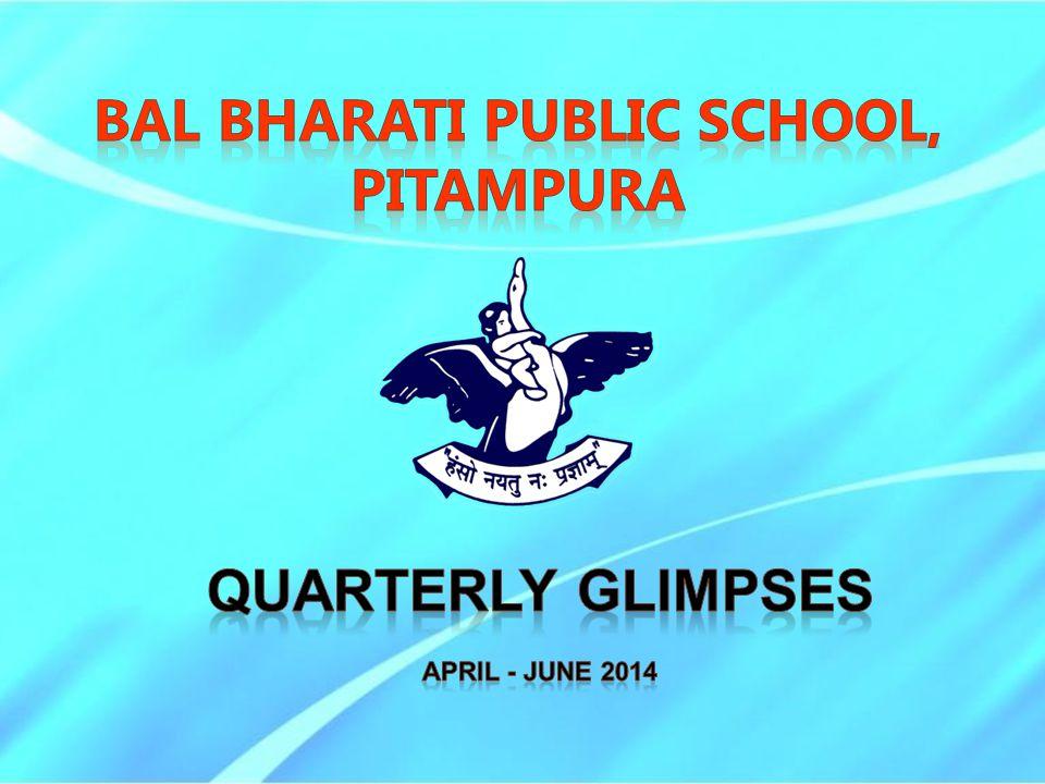 BAL BHARATI PUBLIC SCHOOL, PITAMPURA