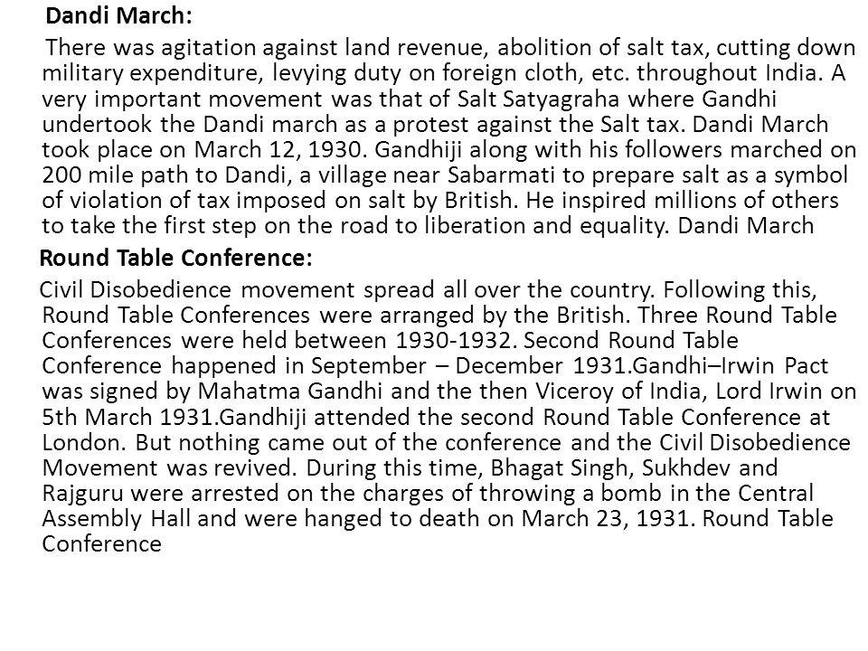 Dandi March: