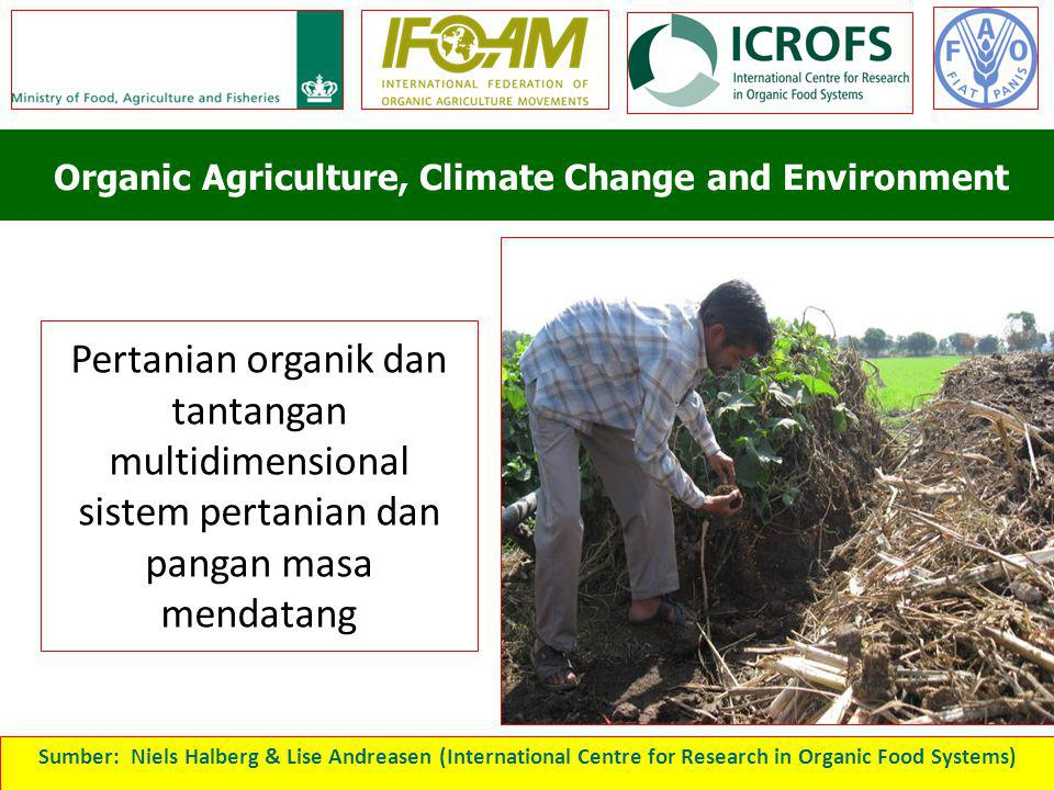 Organic Agriculture, Climate Change and Environment
