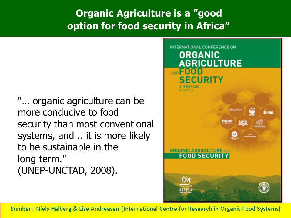 Organic Agriculture is a good option for food security in Africa