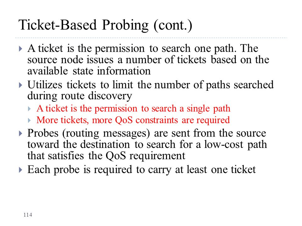 Ticket-Based Probing (cont.)