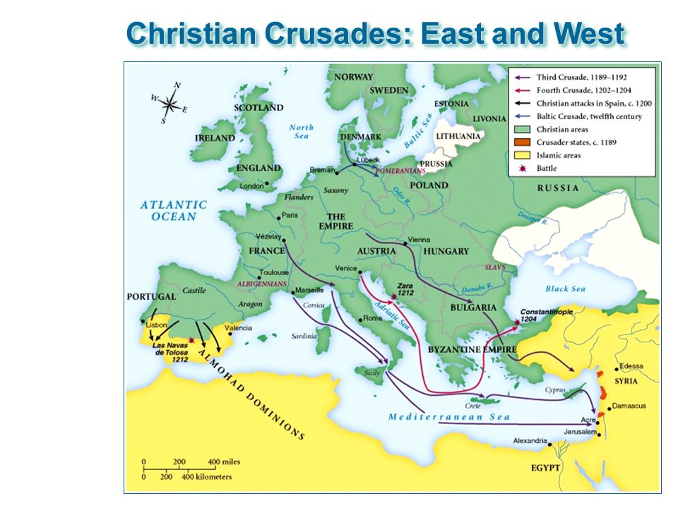 Christian Crusades: East and West