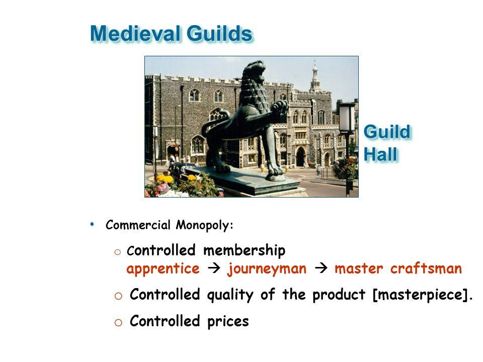 Medieval Guilds Guild Hall