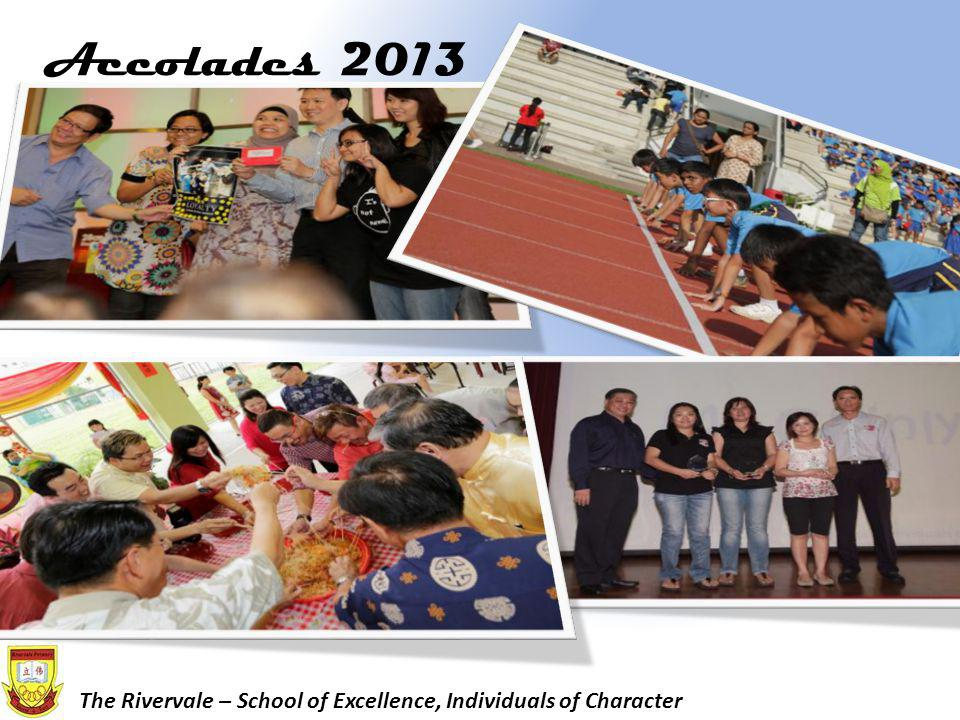 Accolades 2013 The Rivervale – School of Excellence, Individuals of Character