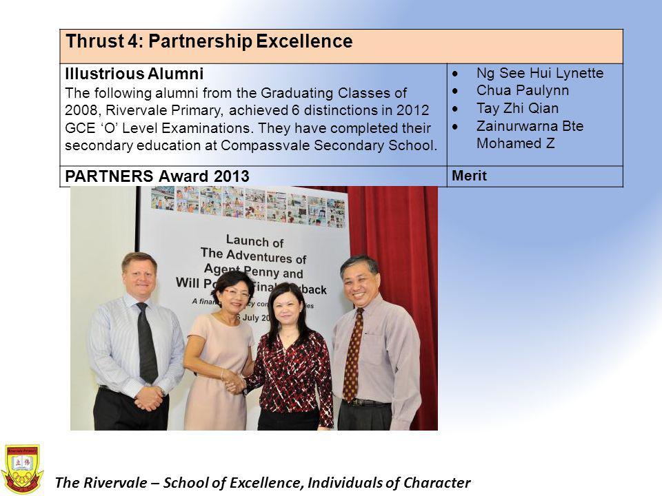 Thrust 4: Partnership Excellence