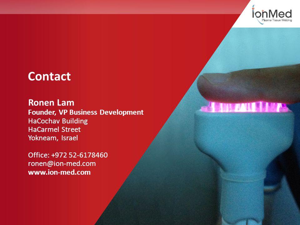 Contact Ronen Lam Founder, VP Business Development HaCochav Building