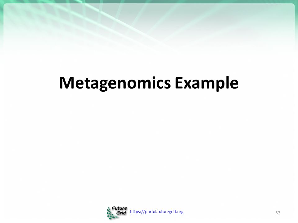 Metagenomics Example
