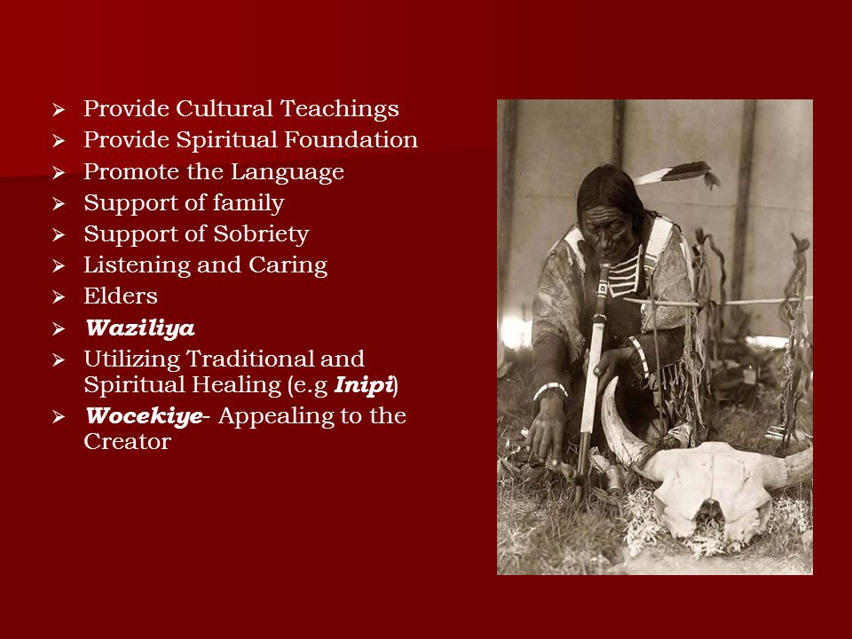 Provide Cultural Teachings