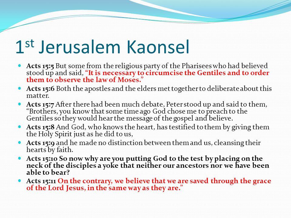 1st Jerusalem Kaonsel
