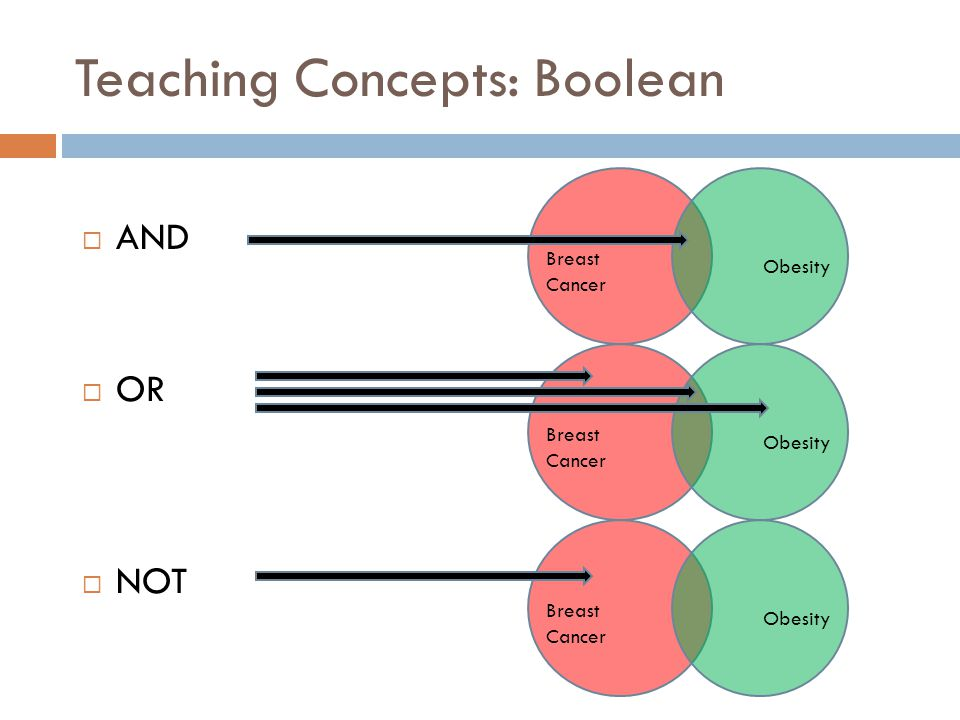 Teaching Concepts: Boolean