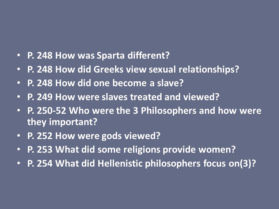 P. 248 How was Sparta different