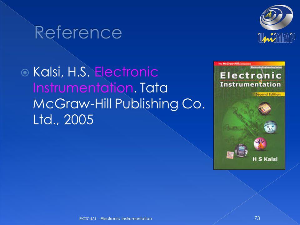 Reference Kalsi, H.S. Electronic Instrumentation.