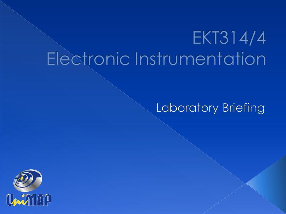 EKT314/4 Electronic Instrumentation