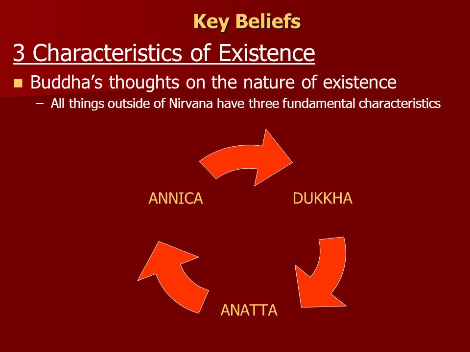 3 Characteristics of Existence